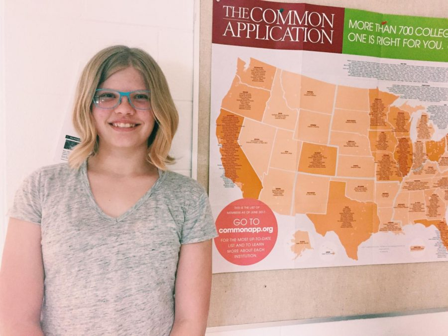 Sophomore Carolyn Mast immerses herself in ASL
