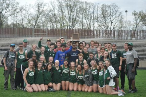 The last race, FHC track qualifies two individuals for States