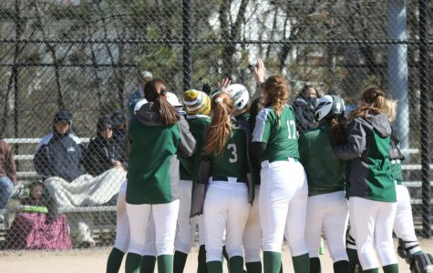 Varsity softball picks up two more conference wins against Ottawa Hills