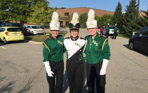 Charlotte Delaney, Addy Kaechele, and Zoey Guikema announced as next year's drum majors