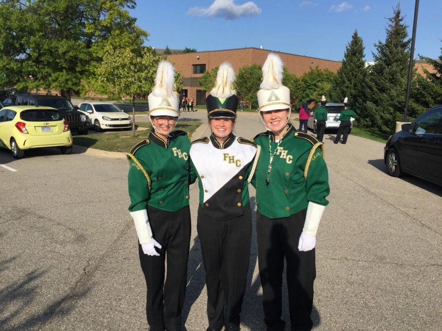 Charlotte+Delaney%2C+Addy+Kaechele%2C+and+Zoey+Guikema+announced+as+next+year%27s+drum+majors