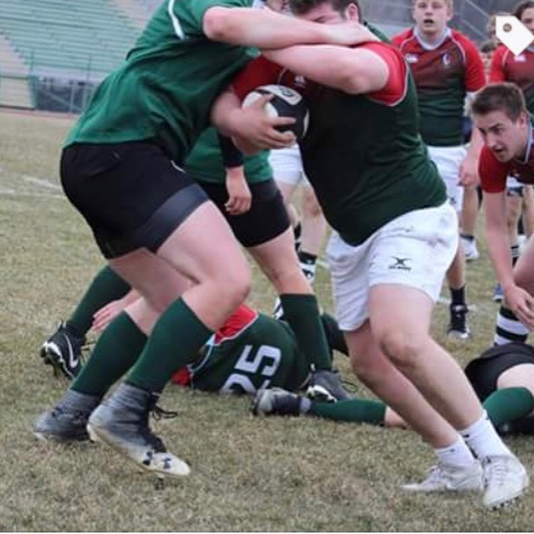 Rugby falls to Rockford in the final game of the season 58-0