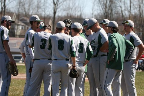 Varsity baseball blows past Ottawa Hills for two big wins