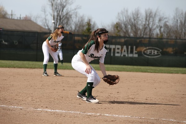 Varsity softball drops a tough pair of conference games to Lowell