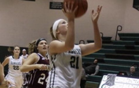 With the support of her family, freshman Brittney Probst excels in soccer and basketball