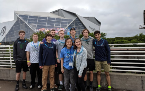 Seniors take away life lessons and teamwork skills from their final DECA competition in Atlanta