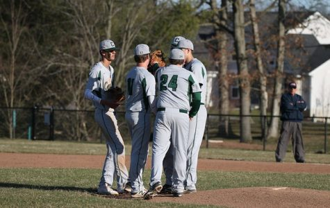 Varsity baseball falls in District Championship