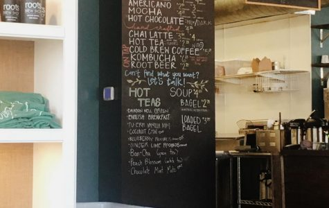 Roots Brew Shop offers a creative atmosphere and delicious drinks