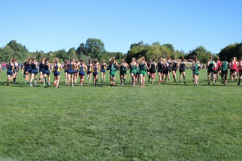Cross country team heading into Conference Championship