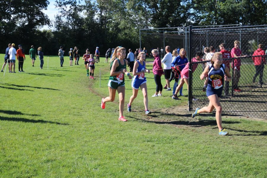 The Ranger XC teams both take third at the Kent Ottawa County meet