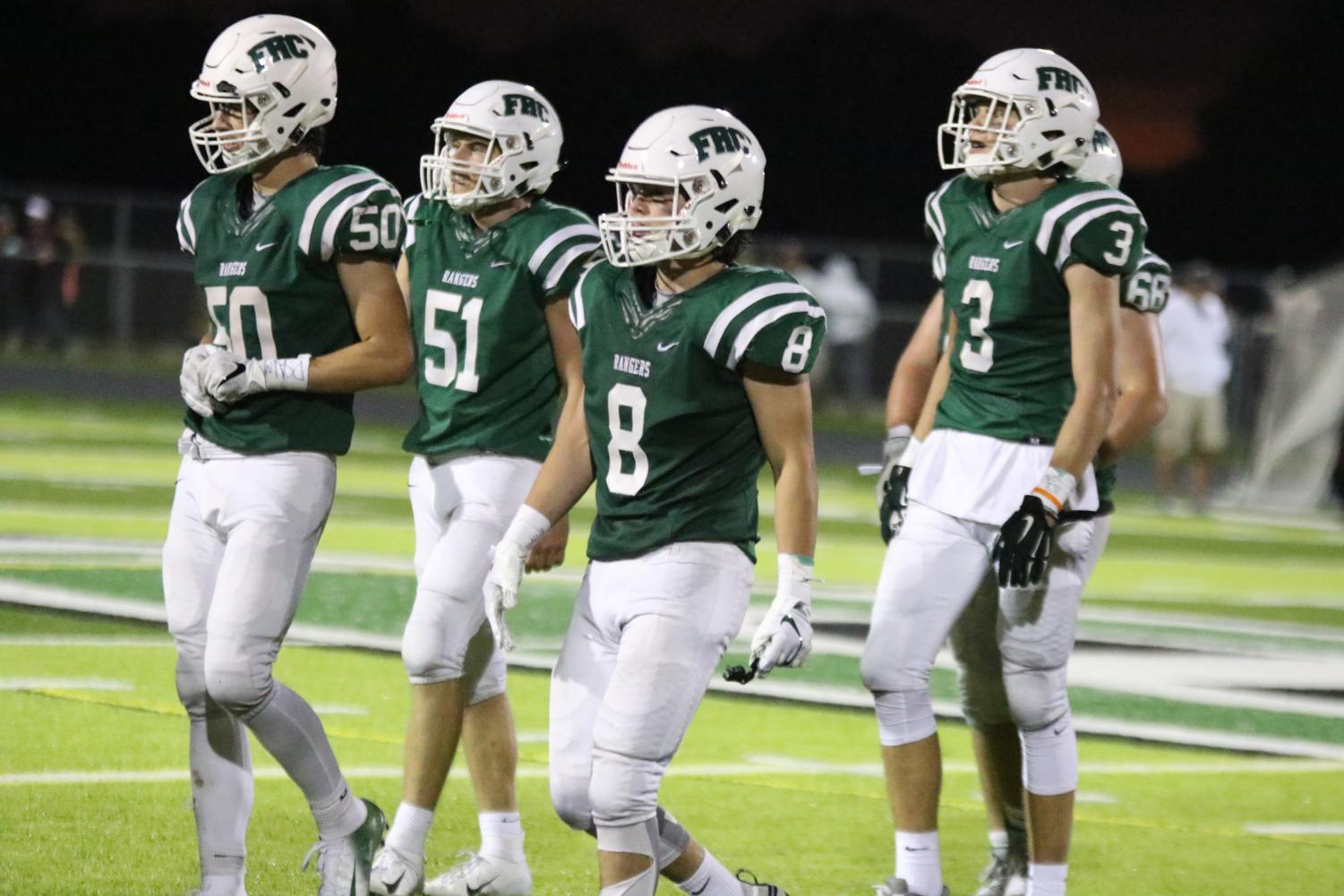 Varsity football vs Grandville – September 7, 2018