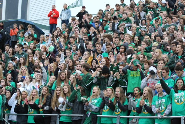 FHC+Homecoming+parade%2C+student+section%2C+band%2C+cheerleaders%2C+%26+dance+team+-+Sept.+28%2C+2018