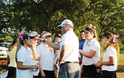 Girls varsity golf takes second at Lowell Jamboree