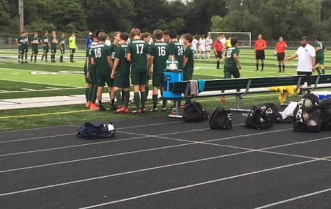 Boys varsity soccer suffers a tough loss to FHN 1-0