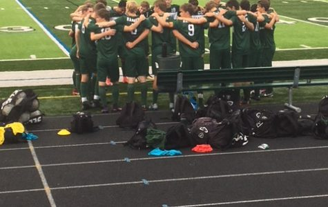 Boys varsity soccer squeezes out a victory against Lowell 1-0