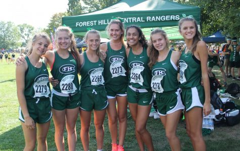 FHC varsity cross country secures second and third place at OK White Jamboree
