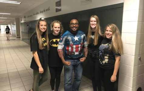 Homecoming Spirit Week 2018 – Day 3: Superhero