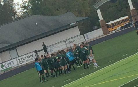 JV Soccer wins 4-1 over Cedar Springs