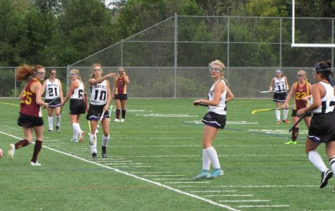 Girls varsity field hockey comes out on top of Mercy High 1-0