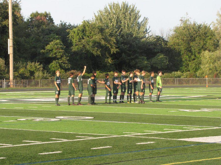 Boys varsity soccer rolls over Cedar Springs 5-1