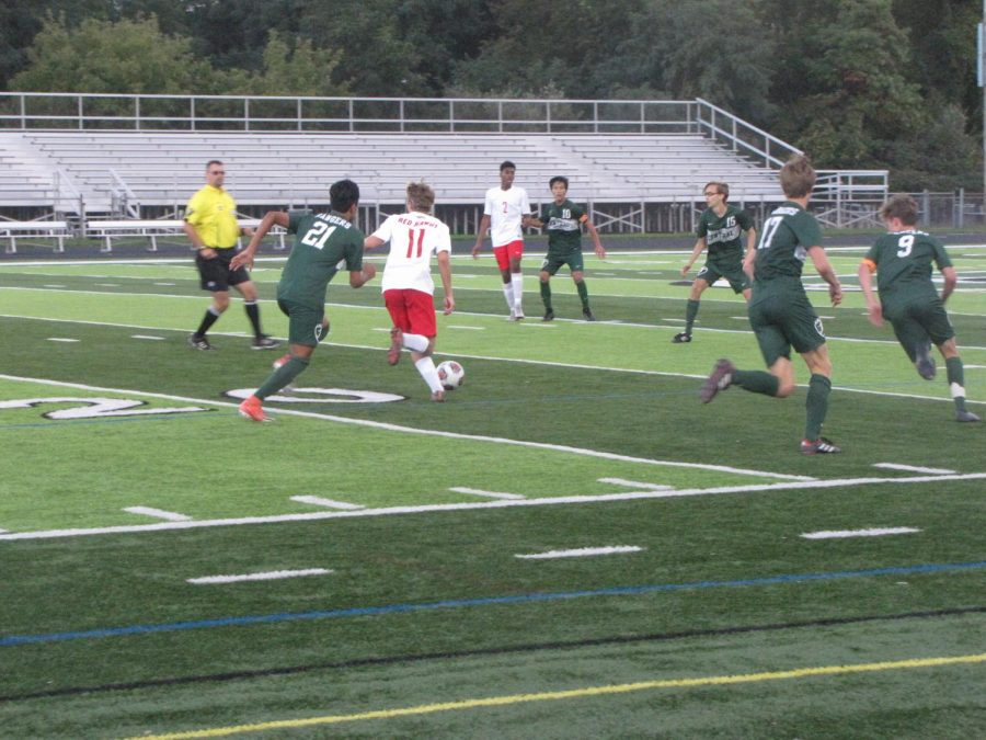 Boys+varsity+soccer+V.+Cedar+Springs+September+27