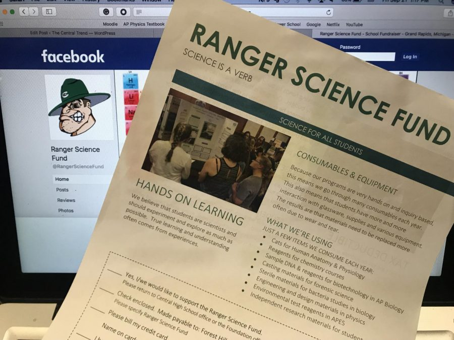 David VonEhr and Kristy Butler create the Ranger Science Fund to sustain the science department