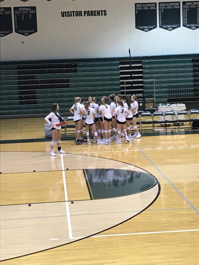 Girls JV volleyball slams Cedar Springs 2-0