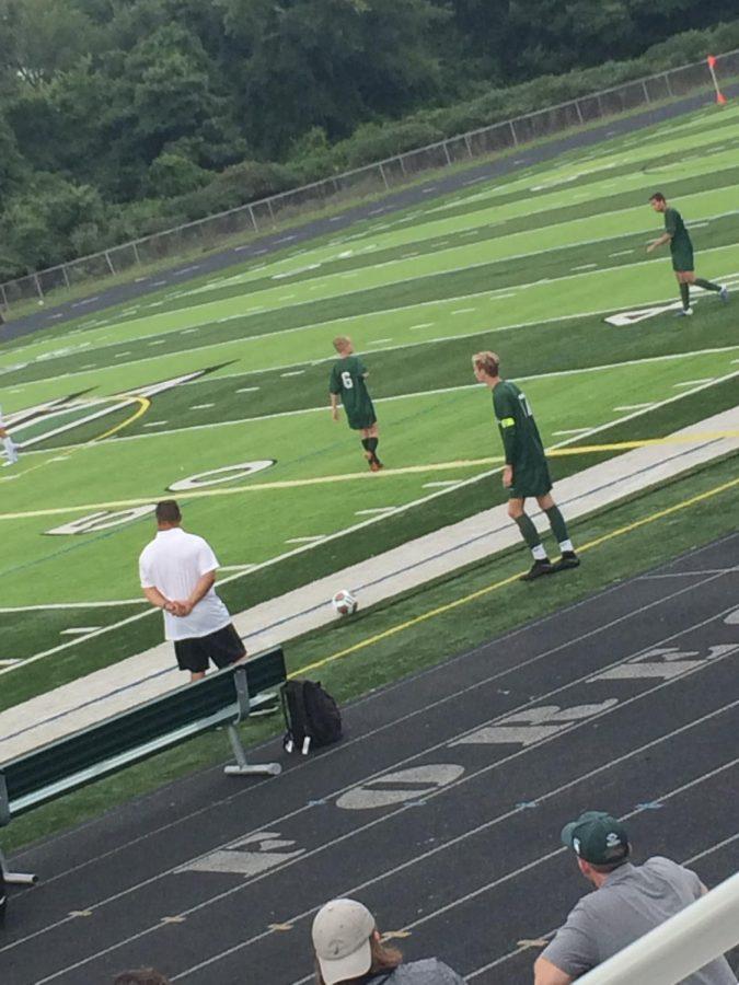 Boys JV soccer wins against Greenville 6-2