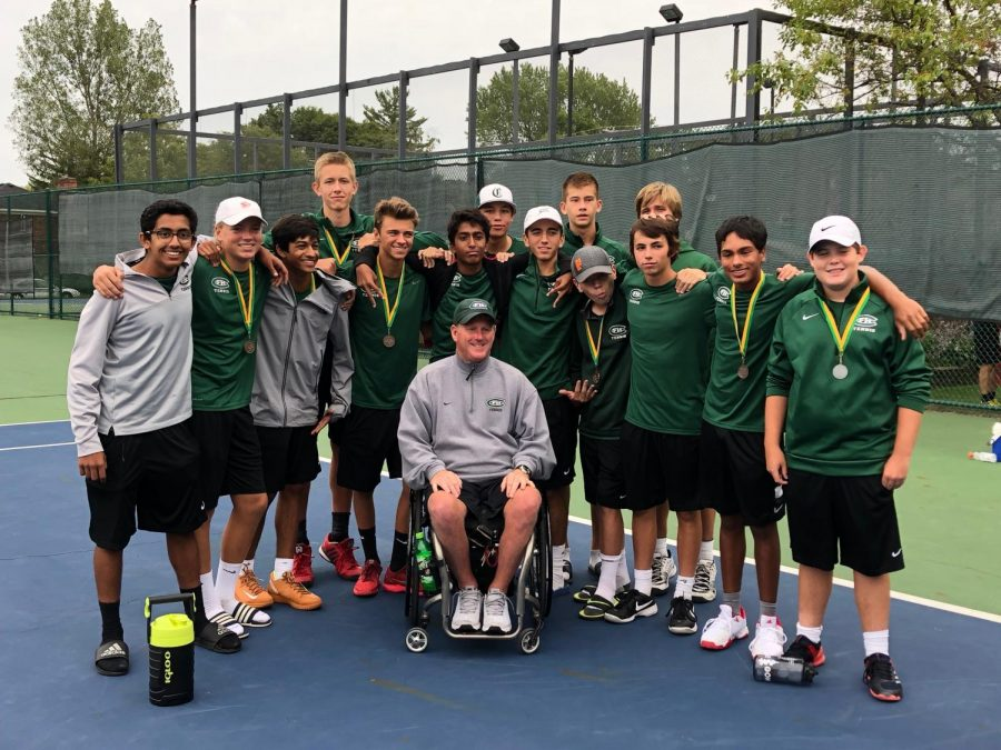 Boys varsity tennis places eleventh in State Tournament