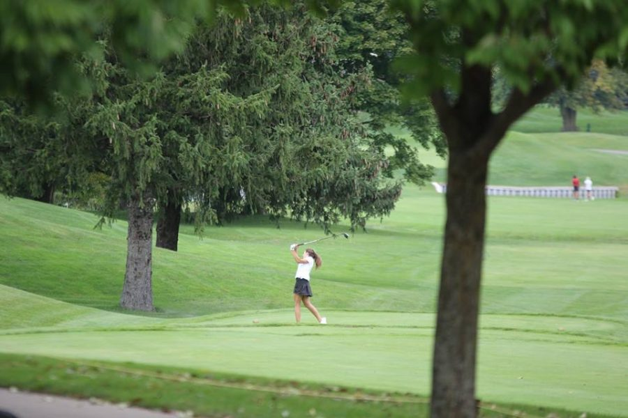 Girls varsity golf takes third at Reeths Puffer Invite