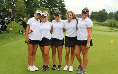 Girls varsity golf takes seventh at State Tournament