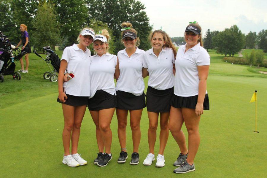 Girls+varsity+golf+takes+seventh+at+State+Tournament