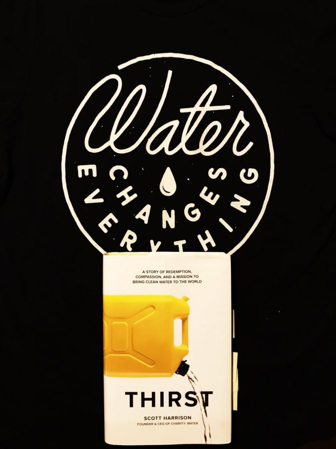 Thirst has renewed my love for books and for charity: water