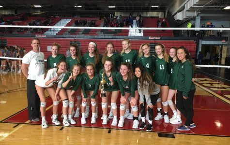 Varsity volleyball takes first at East Kentwood tournament