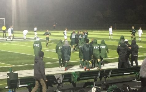 Boys Varsity soccer squeezes past Rockford 1-0 in District round
