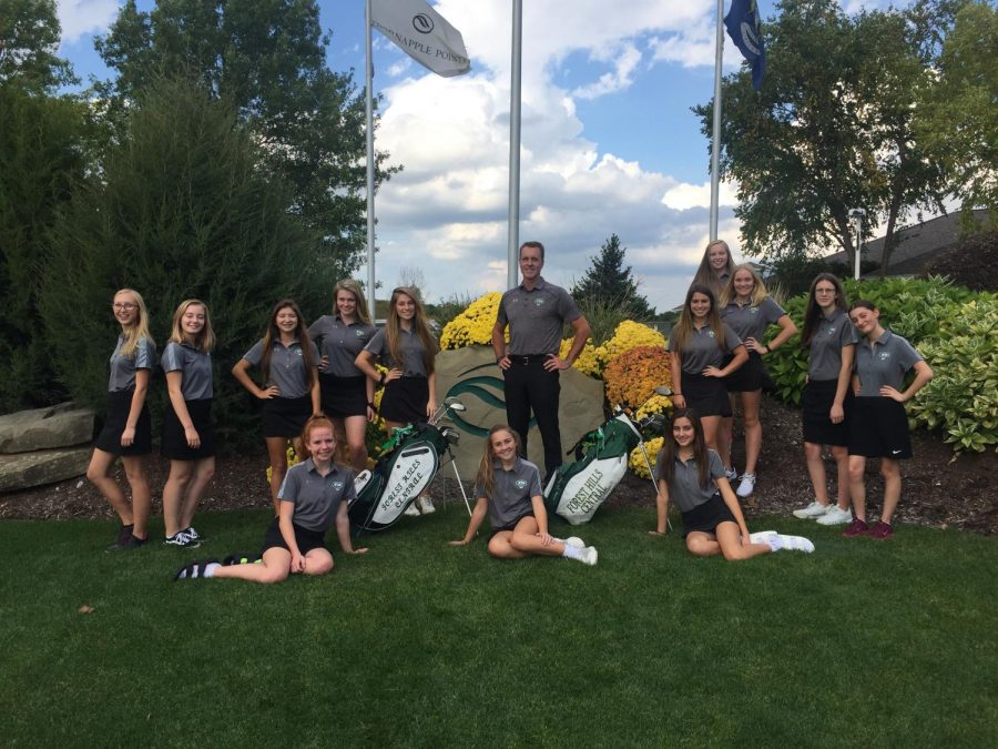 Girls JV golf has strong season overall, looks ahead for a bright future