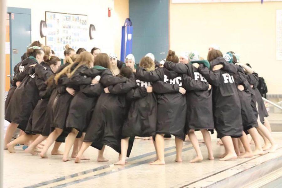 Girls swim and dive takes down Spring Lake on Senior Night 115-68