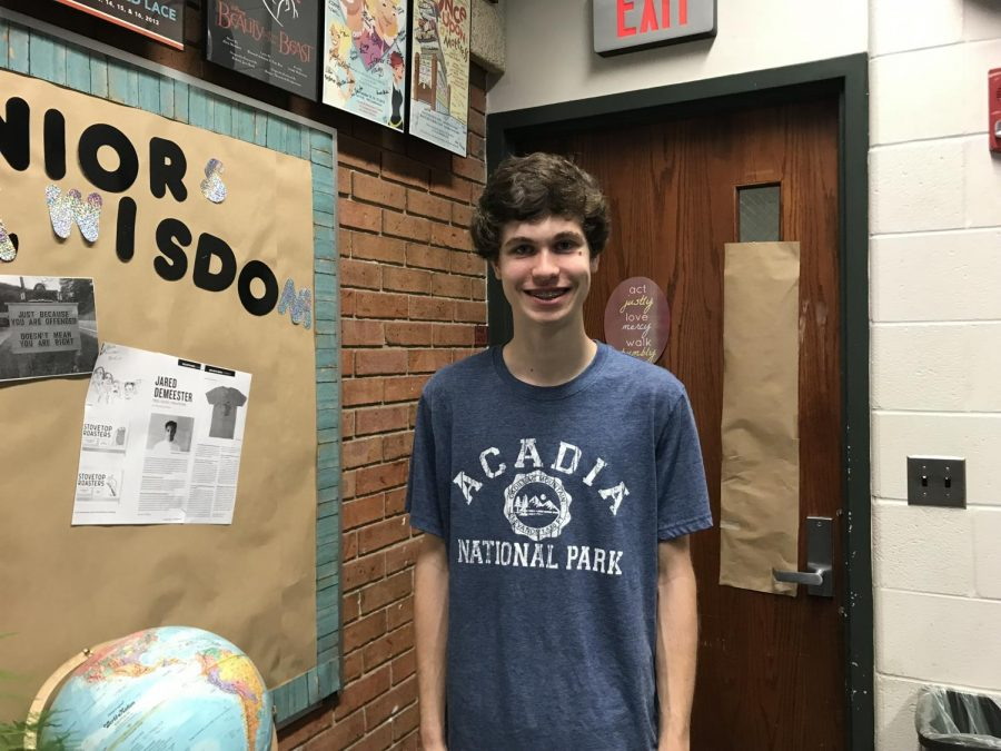 Humans of FHC: Dylan Wilson