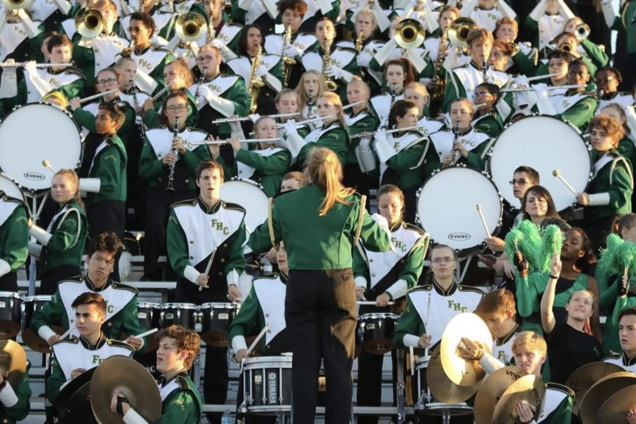 FHC's marching band finishes its season with success