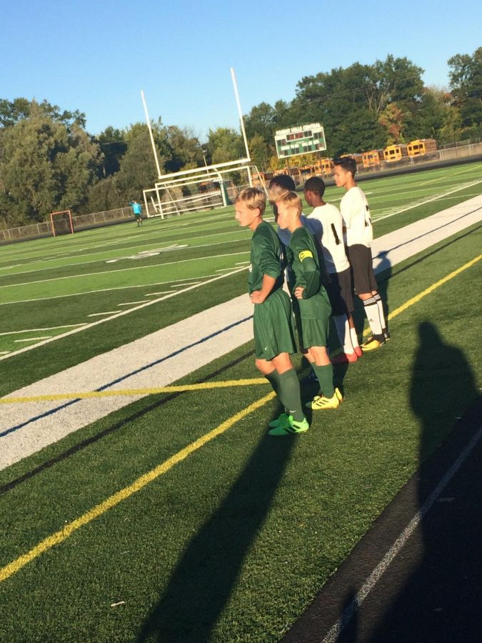 Boys JV soccer falls to Grand Haven 2-0