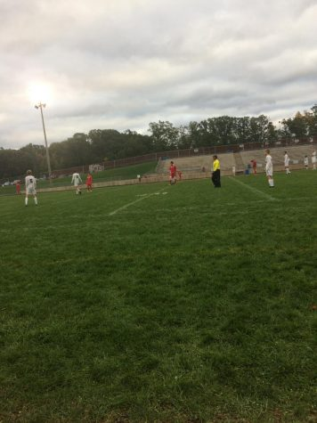 Boys JV soccer suffers a loss against rival FHN 2-0