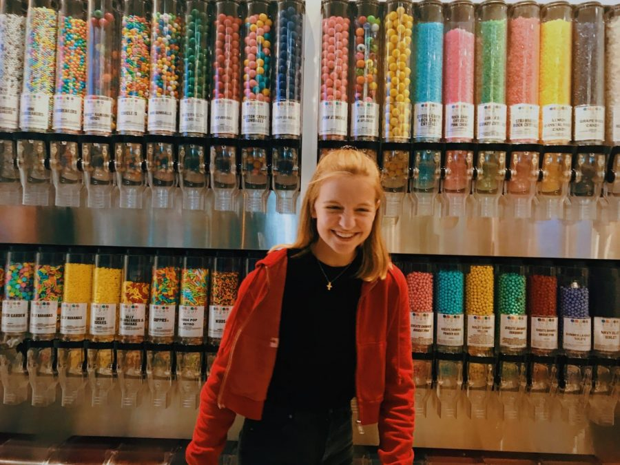 Foreign exchange student Toni Friedrich finds enjoyment in all that Michigan offers