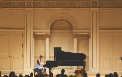 Katie Ritzema showcases her musical talent at New York City's Carnegie Hall