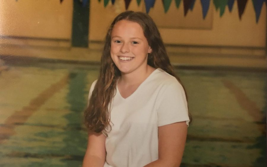Caroline Bell strengthens relationships and finds joy in the pool