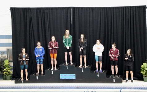 State Champion Jessica Schellenboom leads swim team to tenth place at State Meet