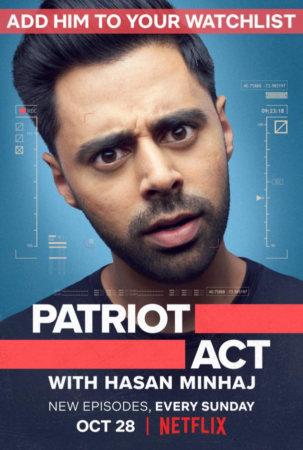 Hasan Minhaj's weekly political coverage in new show Patriot Act is witty, informative, and relevant