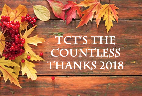 TCT's The Countless Thanks 2018