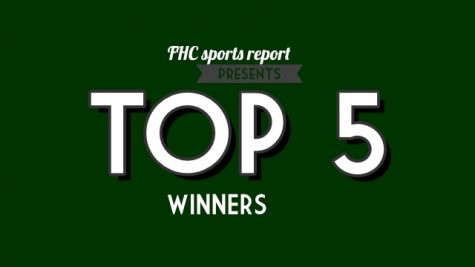 Top Fives From Fall Sports Winners