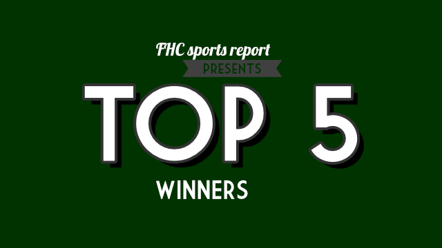 Top Fives From Winter Sports Winners