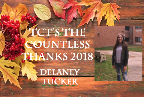 TCT's The Countless Thanks 2018: Delaney Tucker